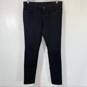 J Brand Jeans Low Rise Skinny Leg Cotton Stretch